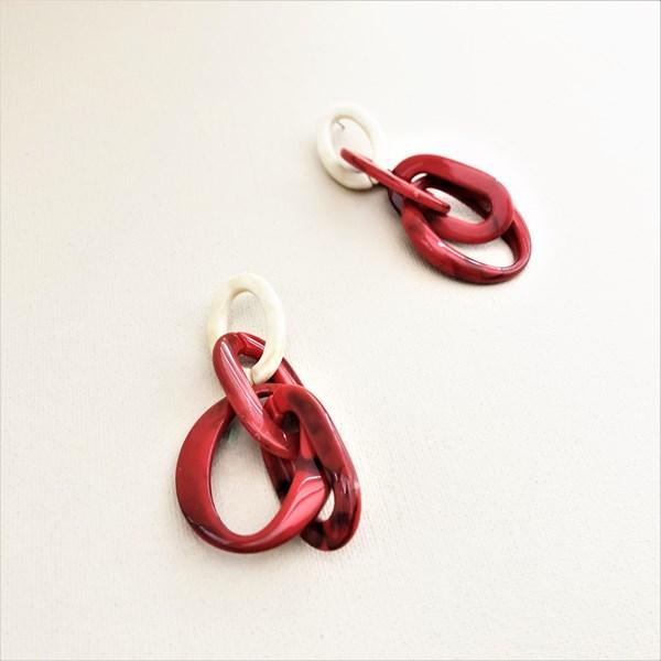 Multi Links Resin Earrings