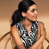 Teardrop Shape Resin Earrings - pr_60526