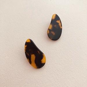 Teardrop Shape Resin Earrings