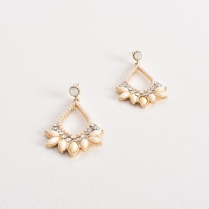 Pretty Jewel Diamante Drop Earrings