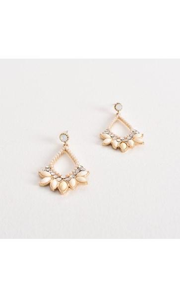 Pretty Jewel Diamante Drop Earrings
