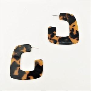 Resin Geo Earrings
