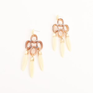 Deco Cut Out & Paddles Resin Earrings