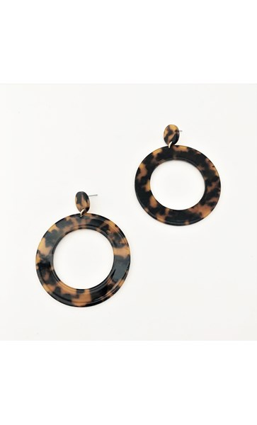 Carolina Resin Ring Earrings
