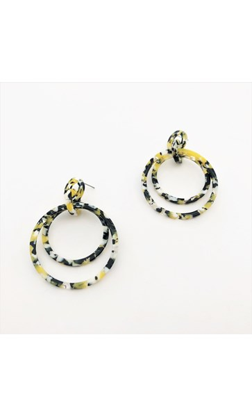 Nova Fine Resin Earrings