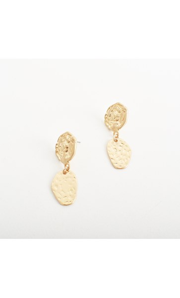 Helena Coin Top Earrings