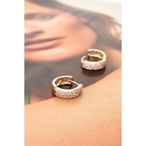 CZ Huggie Earrings