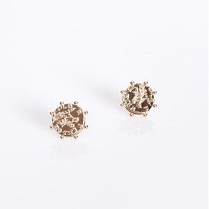Roman Coin Stud Earrings