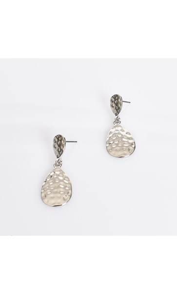 Chrissie Beaten Drop Earrings