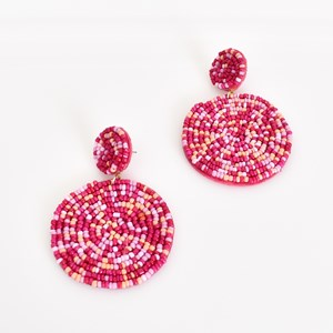 Tia Duo Bead Drop Earrings
