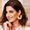 Raffia Fringe Hinged Earrings - pr_74964