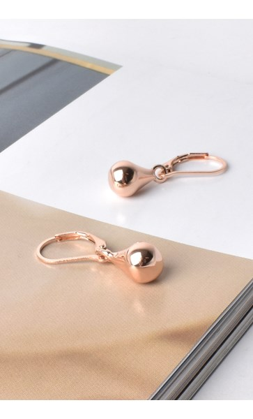 French Hook Tiny Teardrop Earrings