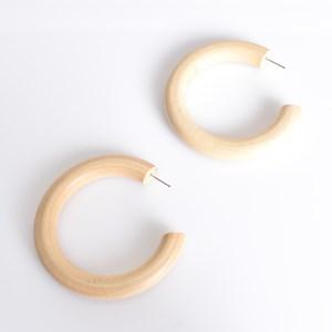 Everyday Timber Hoop Earrings