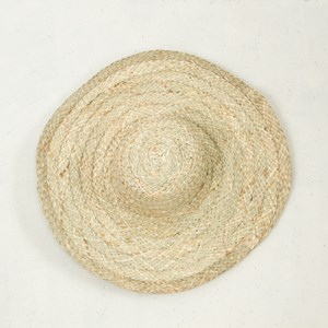 Wide Brim Woven Hat