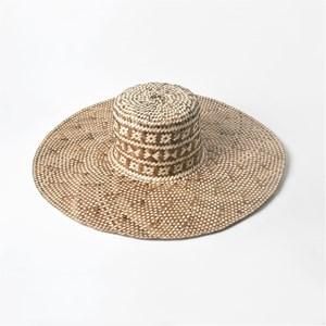 Borneo Woven Wide Brim Hat