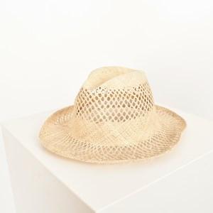 Cowboy Open Weave Hat