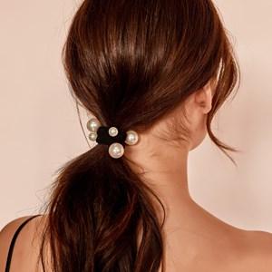 Mixed Pearl Hair Tie