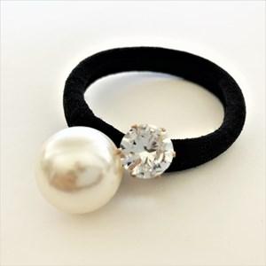 Pearl & Diamante Hair Tie