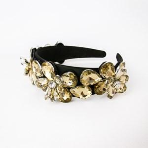Jewelled Flowers Headband