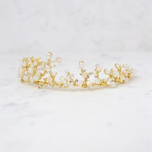 Fine Jewel and Pearl Headband