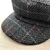 Blake Tweed Check Baker Hat - pr_61489