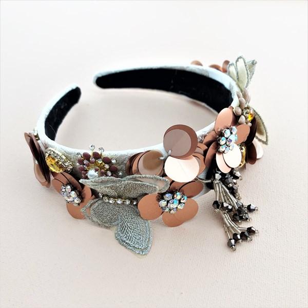 Garden Soiree Bead & Jewel Headband