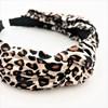 Leopard Pleated Knot Headband - pr_65491