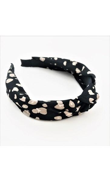 Alice Cheetah Knot Headband