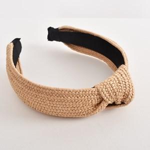 Freya Curved Plaited Knot Headband