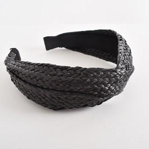 Stella Looped Raffia Plaited Headband