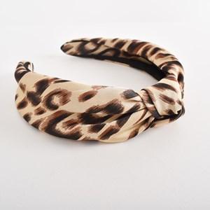 Rosie Abstract Leopard Knot Headband