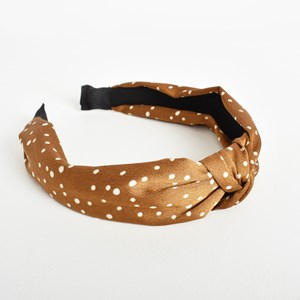 Cece Dyed Spots Knotted Headband
