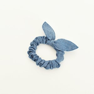 Tilda Denim Scrunchie
