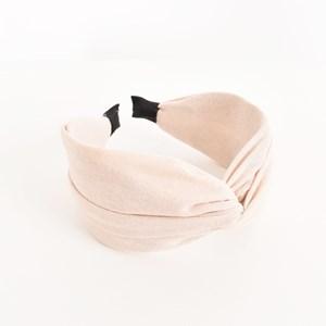 Poppy Linen Cross Over Headband
