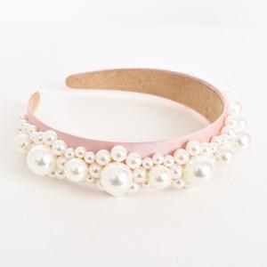 Pearl Cluster Headband