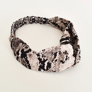 Reptile Printed Fabric Headband