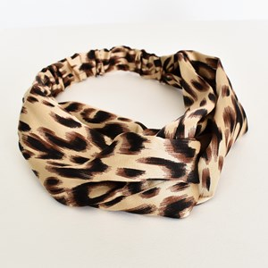 Leopard Printed Fabric Headband