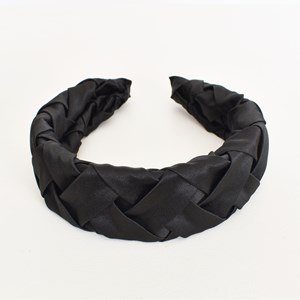 Satin Basket Weave Headband