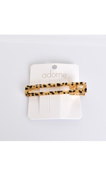 8cm Rectangle Hinged Resin Clip
