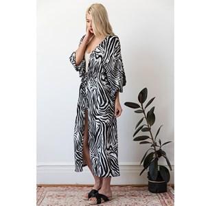 Cape Zebra Print Free Size