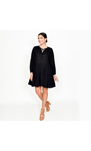 Lulu Tiered Dress Size ML