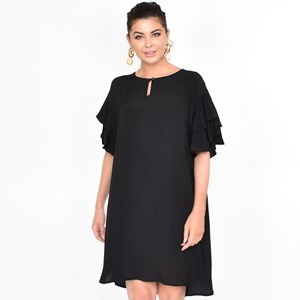 Harper Frill Sleeve Dress Size ML