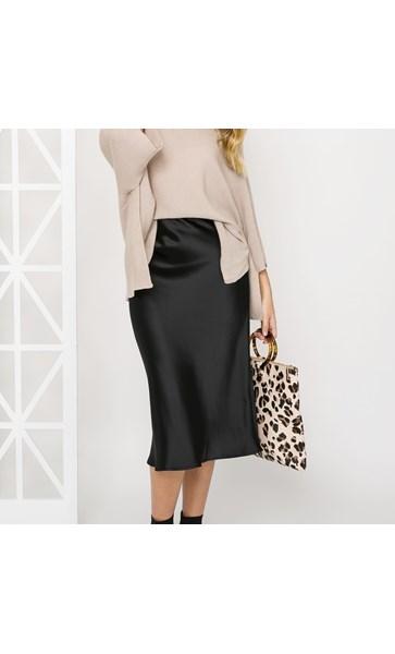 Letti Midi Skirt Size L