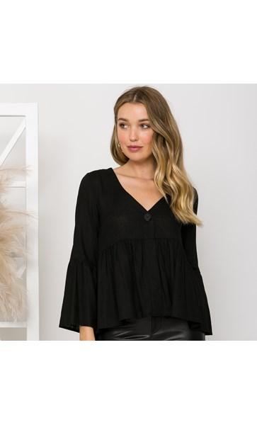 Chrissie Linen Top Size 8