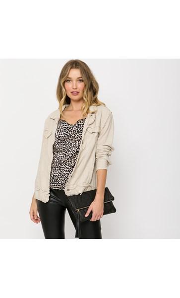 Nicki Linen Jacket S-M
