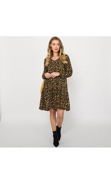 Penny Tiered Dress Medium