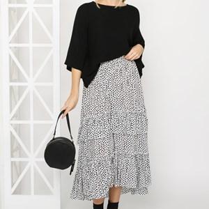 Jamie Tiered Skirt Small