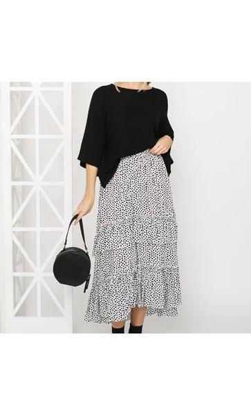 Jamie Tiered Skirt Large