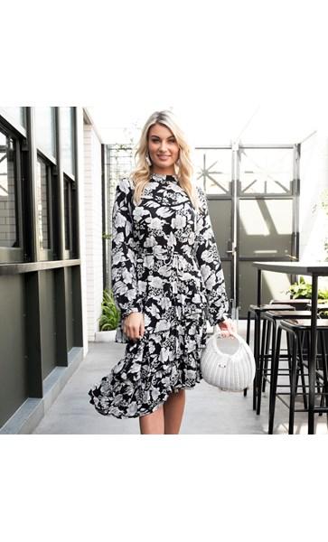 Josie Ruffle Dress Size S