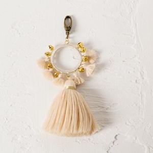 Moroccan Bells Ring & Tassels Charm